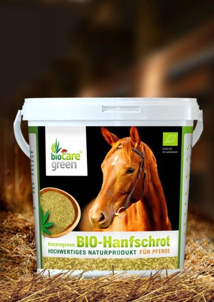 Bio Hanfschrot für Pferde - BIOCARE GREEN